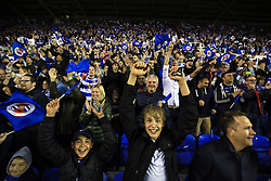 16 May 2017 - Sky Bet Championship - Play-off 2nd Leg - Reading v Fulham - Reading fans celebrate - Photo: Marc Atkins / Offside.