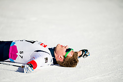 January 31, 2018 - Goms, SWITZERLAND - 180131 Ole JÂ¿rgen Bruvoll of Norway after the men's 15km classic technique interval start during the FIS U23 Cross-Country World Ski Championships on January 31, 2018 in Obergoms..Photo: Vegard Wivestad GrÂ¿tt / BILDBYRN / kod VG / 170091 (Credit Image: © Vegard Wivestad Gr¯Tt/Bildbyran via ZUMA Press)