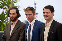 Writer, co-director Joshua Safdie, actor Robert Pattinson and Co-director Ben Safdie at the Good Time film photo call at the 70th Cannes Film Festival Thursday 25th May 2017, Cannes, France. Photo credit: Doreen Kennedy