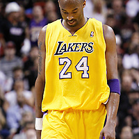 19 January 2012:  Los Angeles Lakers shooting guard Kobe Bryant (24) is seen during the Miami Heat 98-87 victory over the Los Angeles Lakers at the AmericanAirlines Arena, Miami, Florida, USA.