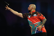 Devon Petersen during the World Championship Darts 2018 at Alexandra Palace, London, United Kingdom on 17 December 2018.
