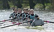 Putney, LONDON.  Varsity Boat Race - Tideway week.  .Cambridge Blue Boat. [Mandatory Credit: Peter Spurrier/Intersport Images] 2002 Varsity, Tideway Week :Challenge : Weigh-in