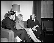 Edward Kennedy visits Taoiseach, Jack Lynch.04/03/1970