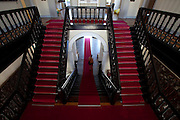 Natal_RN, Brasil...Na foto, o interior do Palacio Potengi, antiga sede do governo do Rio Grande do Norte, que hoje funciona como centro cultural...Inside the Pontegi Palace, ancient palace of the governor in Natal, Rio Grande do Norte, today is a cultural center...Foto: LEO DRUMOND / NITRO