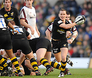Wycombe. GREAT BRITAIN, Wasps Eion REDDEN.  during the, Guinness Premiership game between, London Wasps and Leicester Tigers on 25/11/2006, played at  Adams<br />  Park,<br />  ENGLAND. Photo, Peter Spurrier/Intersport-images]