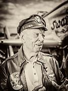 "P-51 pilot Bob ""Punchy"" Powell."