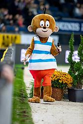 Mascotte<br /> Stuttgart - German Masters 2018<br /> © Hippo Foto - Stefan Lafrentz