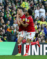 Callum O'Dowda of Bristol City celebrates scoring to make it 1-2 - Mandatory by-line: Arron Gent/JMP - 23/02/2019 - FOOTBALL - Carrow Road - Norwich, England - Norwich City v Bristol City - Sky Bet Championship
