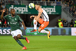 October 20, 2017 - Saint Etienne, France - 02 KEVIN THEOPHILE CATHERINE (asse) - 02 Ruben AGUILAR  (Credit Image: © Panoramic via ZUMA Press)