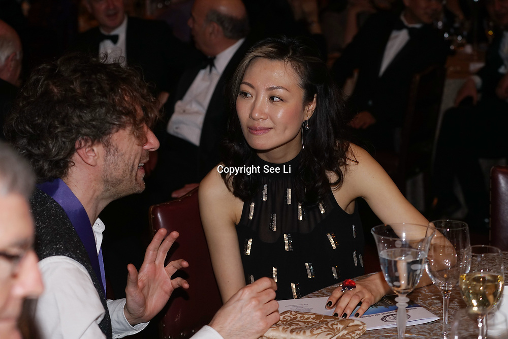 London,England,UK. 31th March 2017: A hosts of Vip's and Lord attended The Athene Festival is an annual event when leading figures from the UK and Chinese Film, television and entertainment industries, come together with Chinese investors, for five days  discussions and screenings with the aim of promoting and encouraging cultural exchange with China. The highlight of the Athene Festival is the Athene Guild Awards Ceremony and Gala Dinner at Guildhall,London,UK. by See Li