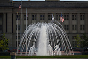 Another big fountain in front of the post office/courthouse.
