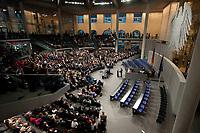 30 JUN 2010, BERLIN/GERMANY:<br /> Christian Wulff, CDU, Bundespraesident, haelt eine Rede, nach seiner Wahl zum Bundespraesidenten, Sitzung der Bundesversammlung mit Wahl des Bundespraesidenten, Plenum, Deutscher Bundestag<br /> IMAGE: 20100630-01-259<br /> KEYWORDS: Übersicht, Uebersicht