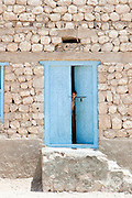 Local man in home at Qalansia, Socotra, Yemen