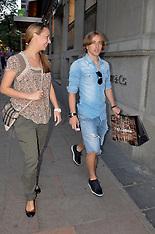 OCT 4 2012 Luka Modric Shopping