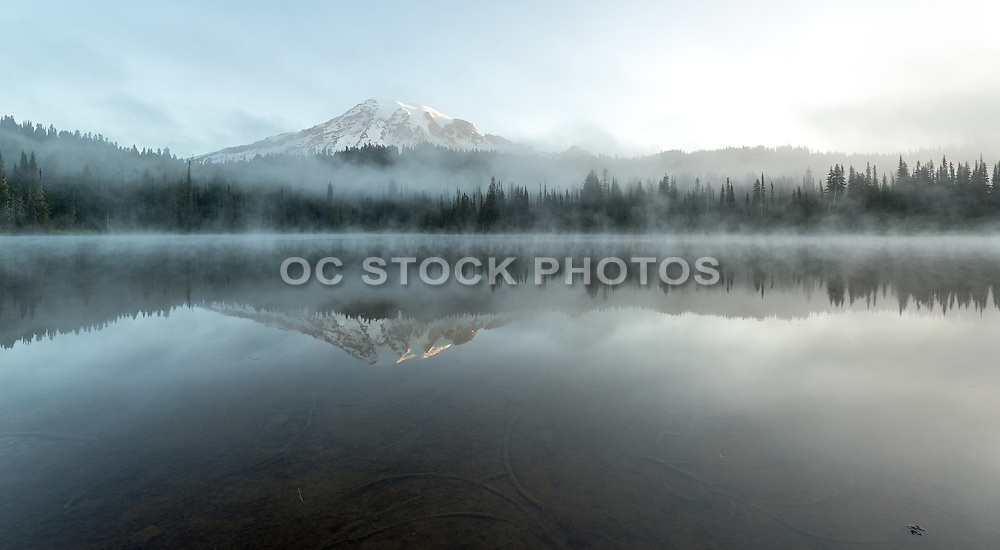 Reflection Lake at Mt. Rainier National Park
