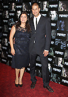 Nina Wadia; Raiomond Mirza Four UK Premiere, Empire Cinema, Leicester Square, London, UK. 10 October 2011. Contact: Rich@Piqtured.com +44(0)7941 079620 (Picture by Richard Goldschmidt)