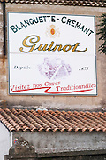 Cave Guinot. Blanquette, Cremant, since 1875. Limoux. Languedoc. France. Europe.