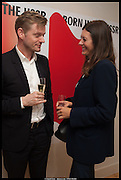 MALCOLM YOUNG; SARAH DOUGLAS, Born in the USSR, Design exhibition opening. Gallery Elena Shchukina, Beauchamp Place, Knightsbridge. London. 15 September 2014.