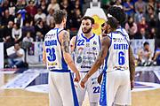 Stefano Gentile, Achille Polonara<br /> Banco di Sardegna Dinamo Sassari - Virtus Segafredo Bologna<br /> LBA Serie A Postemobile 2018-2019<br /> Sassari, 31/03/2019<br /> Foto L.Canu / Ciamillo-Castoria