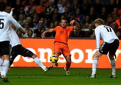 14-11-2012 VOETBAL: NEDERLAND - DUITSLAND: AMSTERDAM<br /> Friendly match Netherlands - Germany in Amsterdam Arena / Rafael van der Vaart<br /> ©2012-FotoHoogendoorn.nl
