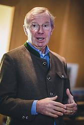 THEMENBILD - Wilfried Haslauer (Landeshauptmann Salzburg) am Sonnblick Observatorium, aufgenommen am 20. November 2018, Rauris, Österreich // Wilfried Haslauer (Governor Salzburg) at the Observatory Sonnblick on 2018/11/20, Rauris, Austria. EXPA Pictures © 2018, PhotoCredit: EXPA/ JFK