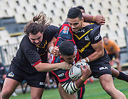 he Bulls laid the foundation for a convincing 34-16 win over the Wellington Orcas wiith a dominant defensive display capped off by a brace of tries from Phil Nati that keeps them on track for a Grand Final berth<br /> AMI Stadium, Christchurch<br /> 18 September 2016<br /> Photos Kevin Clarke CMGSPORT<br /> ©www.cmgsport.co.nz