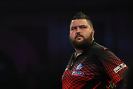 Michael Smith during the World Darts Championships 2018 at Alexandra Palace, London, United Kingdom on 30 December 2018.