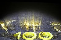 CYCLING - PRESENTATION TOUR DE FRANCE 2013 - PARIS (FRA) - 24/10/2011 - PHOTO JULIEN BIEHLER / DPPI - The 100th edition - Centenaire - Illustration