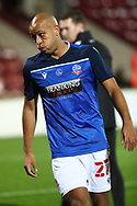 Alex Baptiste during the EFL Sky Bet League 2 match between Scunthorpe United and Bolton Wanderers at the Sands Venue Stadium, Scunthorpe, England on 24 November 2020.