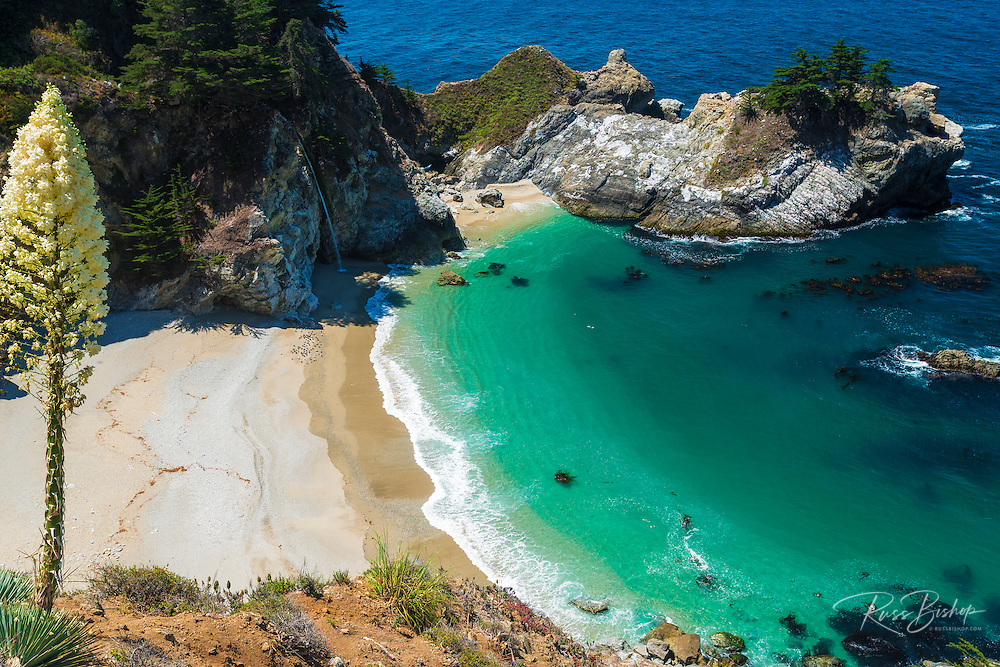 McWay Cove, Julia Pfeiffer Burns State Park, Big Sur, California USA