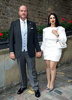 Janine Narissa, Jonathan Sothcott, Wedding Celebration of Janine Narissa and Jonathan Sothcott, at Hush Mayfair London. 12.09.20