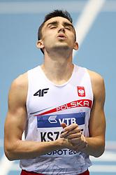 07.03.2014, Ergo Arena, Sopot, POL, IAAF, Leichtathletik Indoor WM, Sopot 2014, Tag 1, im Bild Adam Kszczot (POL) // Adam Kszczot (POL) during day one of IAAF World Indoor Championships Sopot 2014 at the Ergo Arena in Sopot, Poland on 2014/03/07. EXPA Pictures © 2014, PhotoCredit: EXPA/ Newspix/ Tomasz Jastrzebowski<br /> <br /> *****ATTENTION - for AUT, SLO, CRO, SRB, BIH, MAZ, TUR, SUI, SWE only*****
