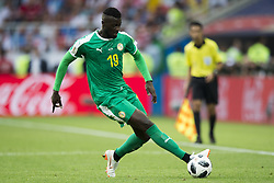 June 19, 2018 - Moscow - Mbaye Niang of Senegal controls the ball during the 2018 FIFA World Cup Group H match between Poland and Senegal at Spartak Stadium in Moscow, Russia on June 19, 2018  (Credit Image: © Andrew Surma/NurPhoto via ZUMA Press)