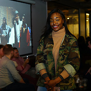 London, England, UK. 1st December 2017. Ugo redd is a host and creatives attends Sagaboi Magazine: Men's Style 2017 - book launch held at WeWork Old Street.