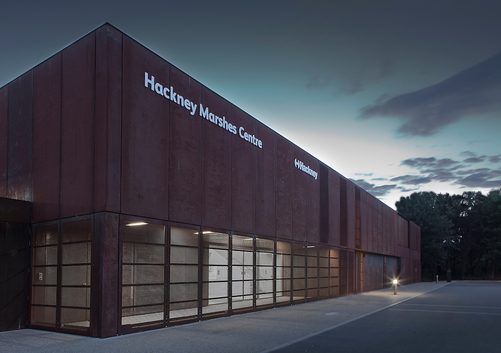 Hackney Marshes Centre by Stanton Williams Architects