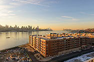 11 Floor, View From Nine on the Hudson, West New York, NJ