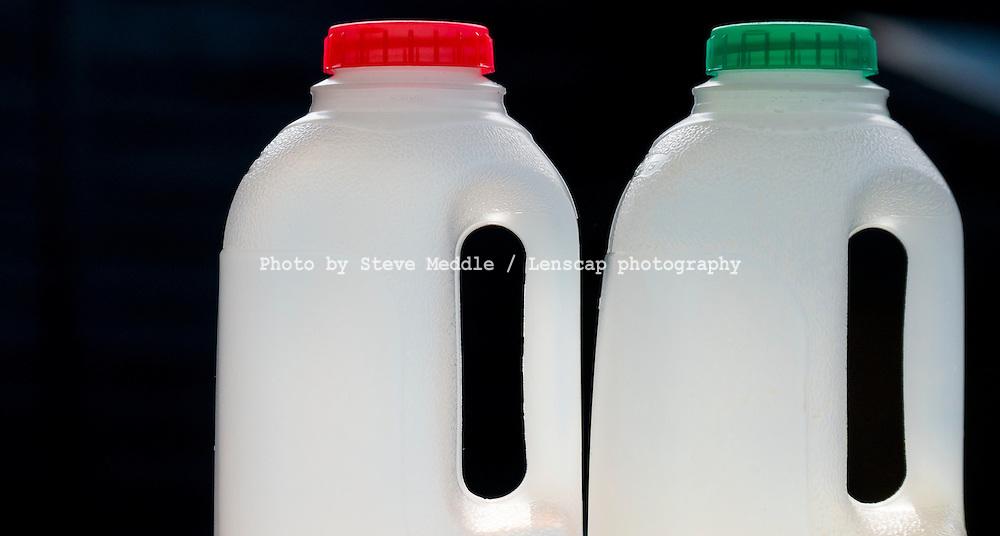 Empty Plastic Milk Bottles - 07 Aug 2015