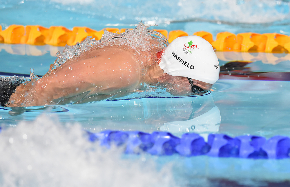 Wales' Tom Haffield competes in the Men's 400m Individual Medley - Heat 1<br /> <br /> Photographer Chris Vaughan/CameraSport<br /> <br /> 20th Commonwealth Games - Day 2 - Friday 25th July 2014 - Swimming - Tollcross International Swimming Centre - Glasgow - UK<br /> <br /> © CameraSport - 43 Linden Ave. Countesthorpe. Leicester. England. LE8 5PG - Tel: +44 (0) 116 277 4147 - admin@camerasport.com - www.camerasport.com