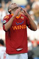 """Jeremy MENEZ Roma<br /> Roma 22/11/2009 Stadio """"Olimpico""""<br /> Roma Bari 3-1<br /> Campionato Italiano Serie A 2009/2010<br /> Foto Andrea Staccioli Insidefoto"""