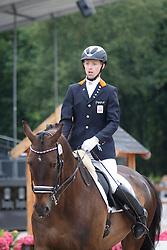 Bolmer Gert, (NED), Aerro H<br /> Para Dressuur Finale<br /> Dutch Championship Dressage - Ermelo 2015<br /> © Hippo Foto - Dirk Caremans<br /> 19/07/15