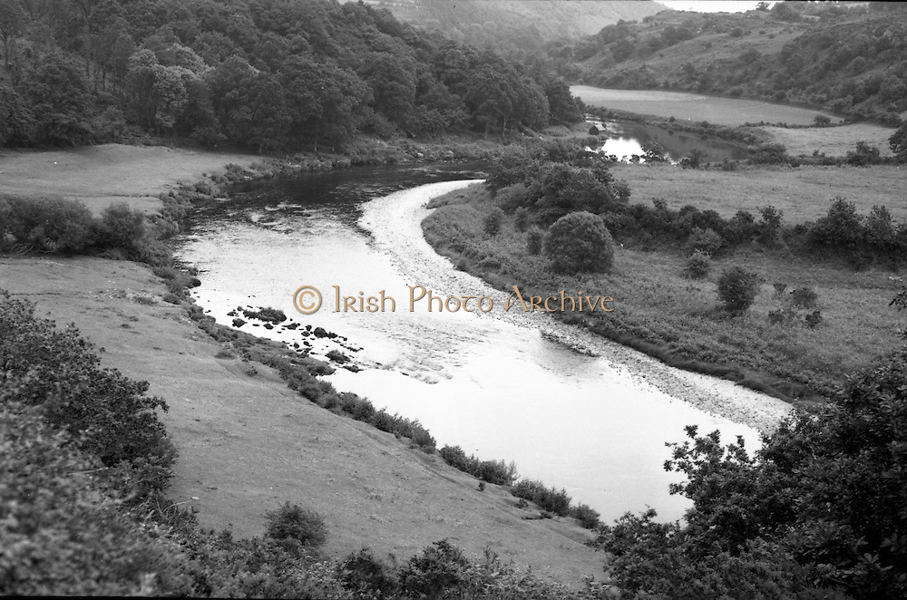 image of the proposed site for ESB Inniscara Dam, County Cork - 01/06/1952, 1st June 1952.