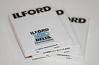 "Ilford 4x5"" storformatsfilm.<br /> Foto: Svein Ove Ekornesvåg"