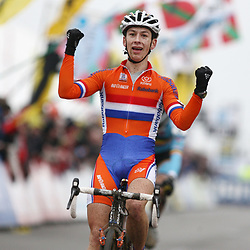 Lars van der Haar wereldkampioen bij de belofte in Koksijde 2012