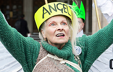 Vivienne Westwood Fracking 18th december 2018