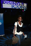 Nefatari Cooper at ' Rising Icons ' featuring The Dream presented by Grey Goose, Complex Magazine & BET held at The Hiro Ballroom on July 30, 2009 in New York City
