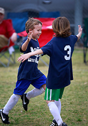 23 March 2013. New Orleans, Louisiana,  USA. .Carrolton Boosters Soccer. Under 8's. 'Owls' take on the Soldiers in the Championship finals, emerging victorious with a  7-2 win. Lots of bruising games against many valiant opponents..Photo; Charlie Varley.