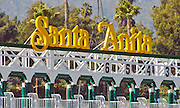 The Starting Gates at Santa Anita Park