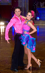 Vincent Simone and Rachel Stevens pose at the Strictly Come Dancing on tour Photo call MEN Arena 21 January 2009 © Paul David Drabble