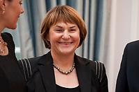 13 JAN 2011, BERLIN/GERMANY:<br /> Ingrid Schmidt, Praesidentin Bundesarbeitsgericht,<br /> Neujahrsempfang des Bundespraesidenten, Schloss Bellevue<br /> IMAGE: 20110113-01-061