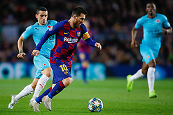 November 5, 2019, Barcelona, Catalonia, Spain: November 5, 2019 - Barcelona, Spain - Uefa Champions League Stage Group, FC Barcelona v Slavia Praga: Lionel Messi of FC Barcelona runs with the ball. (Credit Image: © Eric Alonso/ZUMA Wire)